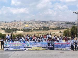 wisata rohani ke israel