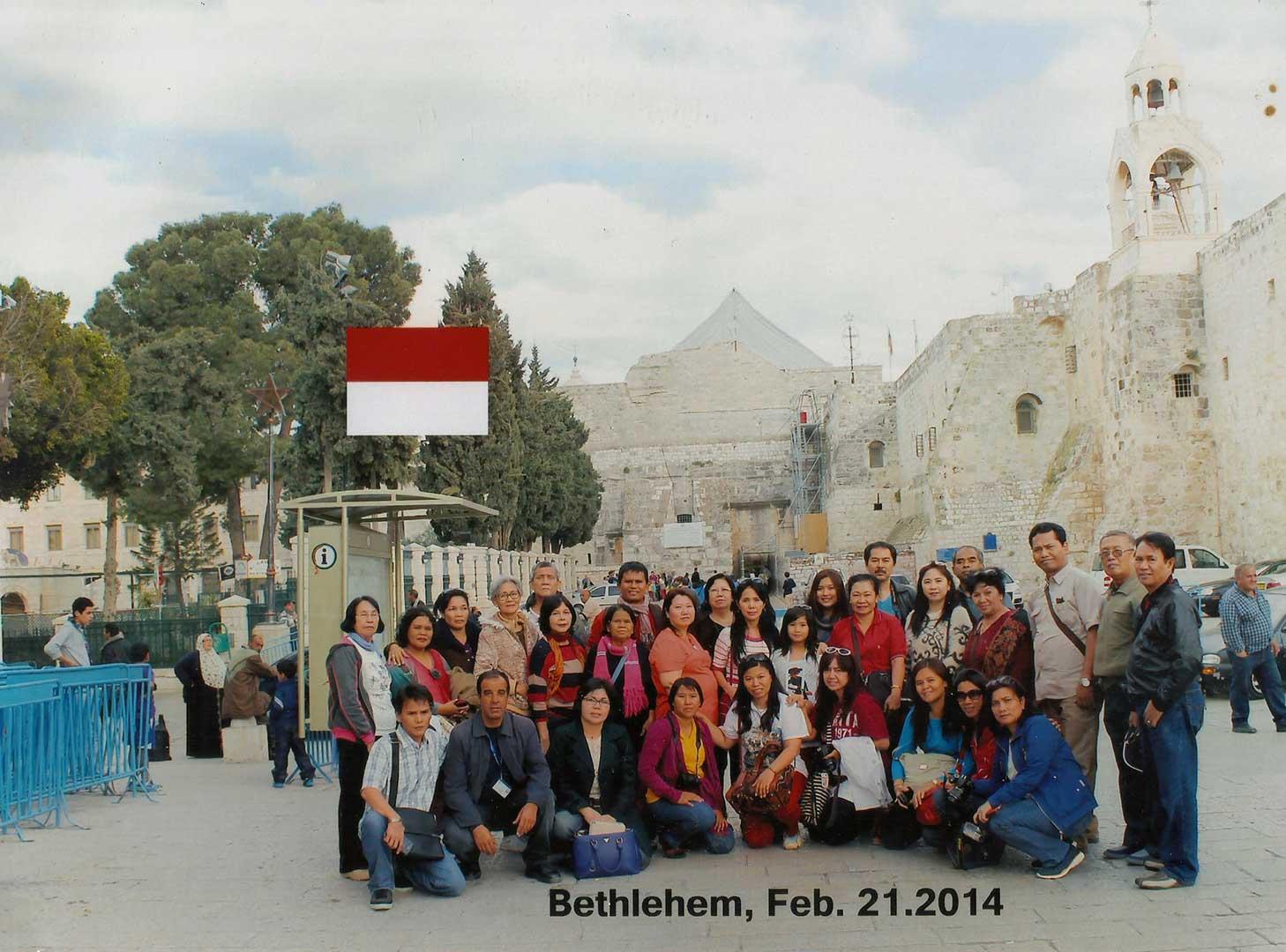 holyland tour ke jordania