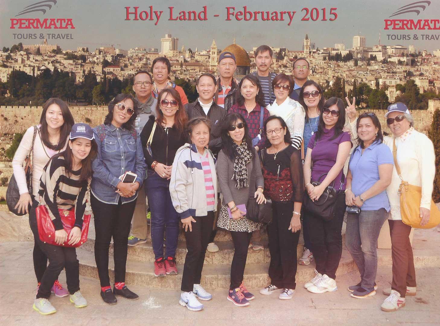 holyland permata tour
