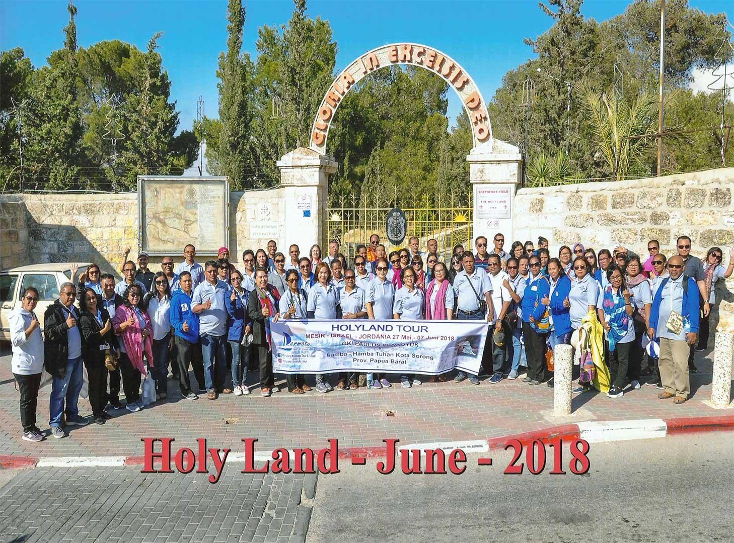 wisata rohani holyland tour